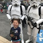 4Zl2tOEnpdMqQ75Qn F2ARc36lQtf645rq9TwF9Ur64 My youngest made friends with some of the brave boys in the 501st. Only 4 and already learning how to shoot straight with an E 11!