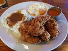 IbSVW9m1RFv hRwhAsaNltqR90 mocq4Ol C5MElSS4 [I ate] Southern Fried Chicken, Mashed Potatoes w/ Gravy and Mac n Cheese