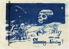 "NkPzMHm8CCQK2PVte3sPCn0 Q39YLZPES87cv4SHVls ""Why are you shivering and freezing?""   Korean War leaflets dropped by the North. c.1951."