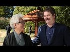smAn48HkO7dXDrj7Pk bwSh3GTfY mvrjbPx NUBlGQ TIL Nick Offerman (Ron Swanson in Parks & Rec) used his woodworking skills to build a wooden gazebo for the Japan House of his alma mater (Urbana Champaign).