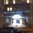sme0qV9a9PlBhxgD3KuRb4LkEnRwK2vLqW7iraNageo Message being projected onto the Trump Hotel in DC right now.