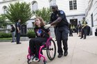 FLL0yvPrViOzDD4uHUuGrm9dpMW6zuF 3FZ0Fu4iQsw They travelled to D.C. They slept outside in wheelchairs.They were arrested.They never lost faith. They saved Medicaid